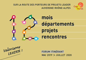 Forum itinérant LEADER - Mai 2019 > Juillet 2020